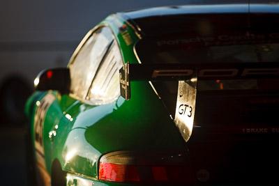 28;9-August-2009;Australia;Brad-Rankin;Morgan-Park-Raceway;Porsche-996-GT3-Cup;Porsche-GT3-Cup;QLD;Queensland;Shannons-Nationals;Warwick;atmosphere;auto;close‒up;detail;morning;motorsport;paddock;racing;telephoto
