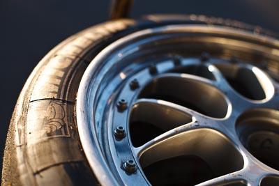 50mm;9-August-2009;Australia;Michelin;Morgan-Park-Raceway;QLD;Queensland;Shannons-Nationals;Warwick;atmosphere;auto;brand;close‒up;detail;logo;morning;motorsport;paddock;racing;tyre;wheel