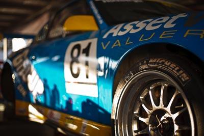 81;50mm;9-August-2009;Australia;Michelin;Morgan-Park-Raceway;Phillip-Holzberger;Porsche-996-GT3-Cup;Porsche-GT3-Cup;QLD;Queensland;Shannons-Nationals;Warwick;atmosphere;auto;brand;close‒up;detail;logo;morning;motorsport;paddock;racing;tyre;wheel