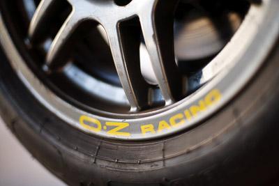 30-August-2009;50mm;Australia;Morgan-Park-Raceway;OZ-Racing;QLD;Queensland;Queensland-State-Championship;Warwick;atmosphere;auto;brand;close‒up;detail;logo;motorsport;racing;tyre;wheel