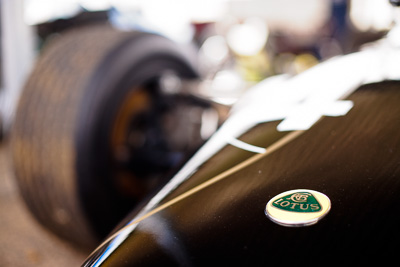 19-September-2009;50mm;Australia;Kurwongbah;Lakeside-Classic-Speed-Festival;Lakeside-Park;Lakeside-Raceway;Lotus;QLD;Queensland;atmosphere;auto;badge;brand;close‒up;detail;logo;motorsport;racing