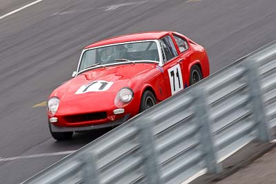 71;1968-Lenham-Le-Mans-GT;25-July-2010;Australia;Denis-Best;Historic-Production-Sports-Cars;Morgan-Park-Raceway;QLD;Queensland;Warwick;auto;motorsport;racing;super-telephoto