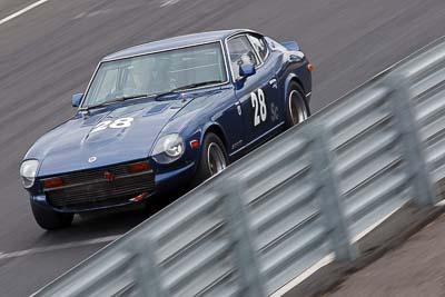 28;1976-Datsun-280Z;25-July-2010;Australia;Historic-Production-Sports-Cars;Jason-Lea;Morgan-Park-Raceway;QLD;Queensland;Warwick;auto;motorsport;racing;super-telephoto