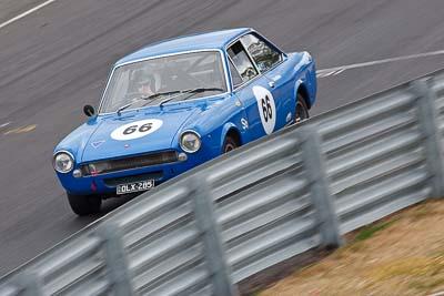66;1968-Fiat-124AC;25-July-2010;Andrew-Gamblen;Australia;Historic-Production-Sports-Cars;Morgan-Park-Raceway;QLD;Queensland;Warwick;auto;motorsport;racing;super-telephoto