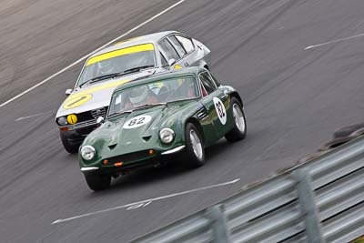 1;82;1969-TVR-Tuscan;1979-Alfa-Romeo-Alfetta-GTV-2000;25-July-2010;Australia;Historic-Production-Sports-Cars;Laurie-Burton;Morgan-Park-Raceway;QLD;Queensland;Tony-Karanfilovski;Warwick;auto;motorsport;racing;super-telephoto