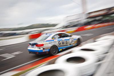 28;26-February-2012;Australia;BMW-335i;Bathurst;Bathurst-12-Hour;Christian-DAgostin;GWS-Personnel-Motorsport;Garth-Duffy;Mt-Panorama;NSW;New-South-Wales;Peter-ODonnell;auto;endurance;motion-blur;motorsport;racing;wide-angle