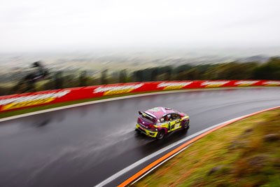 14;14;26-February-2012;Australia;Bathurst;Bathurst-12-Hour;Henk-Thijssen;Ivo-Breukers;Martin-Bailey;Mt-Panorama;NSW;New-South-Wales;Red-Camel-Jordans;Seat-Leon-20-TDI;auto;endurance;motion-blur;motorsport;racing;rain;wet;wide-angle