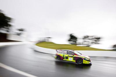 14;14;26-February-2012;Australia;Bathurst;Bathurst-12-Hour;Henk-Thijssen;Ivo-Breukers;Martin-Bailey;Mt-Panorama;NSW;New-South-Wales;Red-Camel-Jordans;Seat-Leon-20-TDI;Topshot;auto;endurance;motion-blur;motorsport;racing;rain;wet;wide-angle