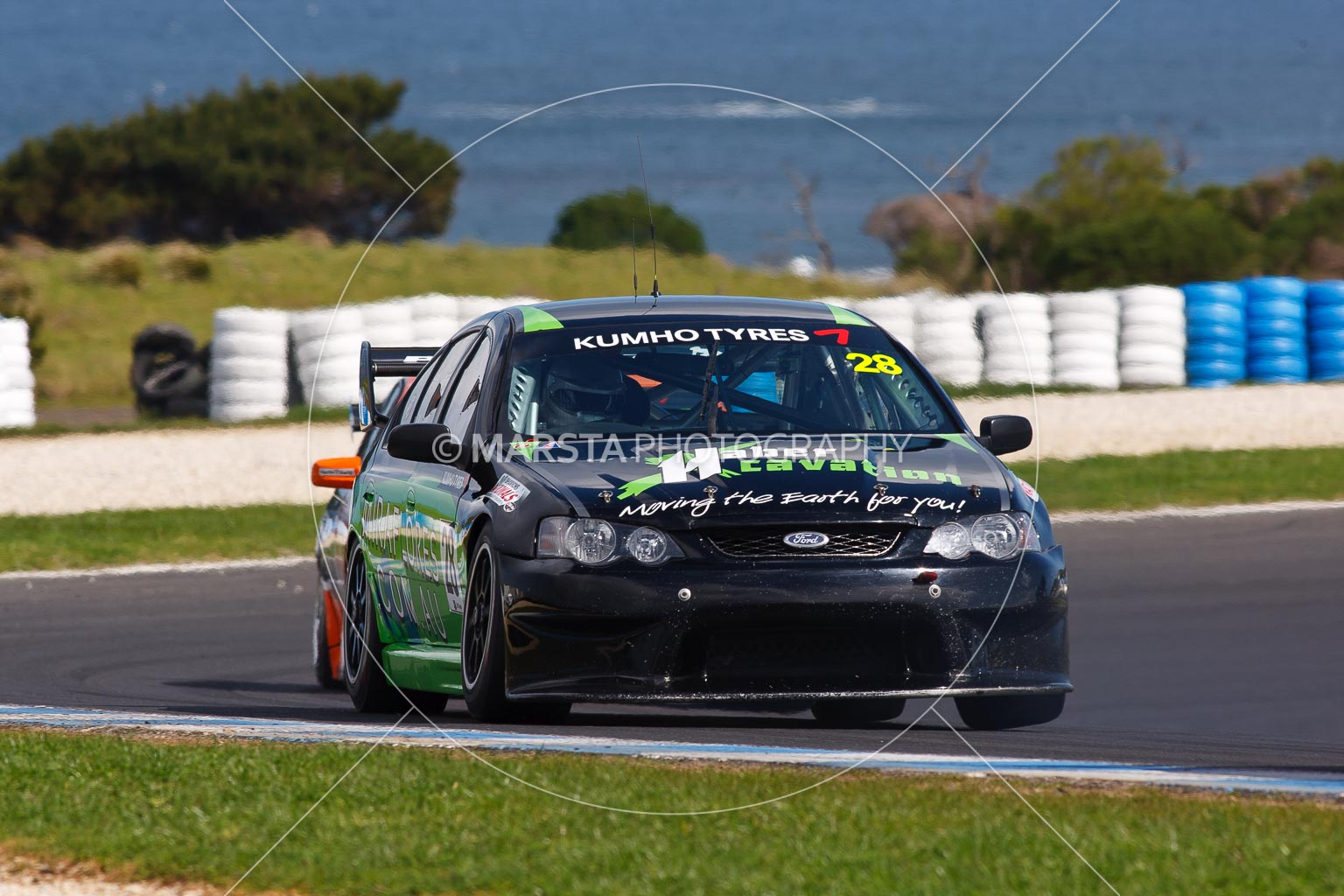 (28);23 September 2012;Australia;Ford Falcon BA;Morgan Haber;Phillip Island;Shannons Nationals;V8 Touring Cars;VIC;Victoria;auto;motorsport;racing;super telephoto