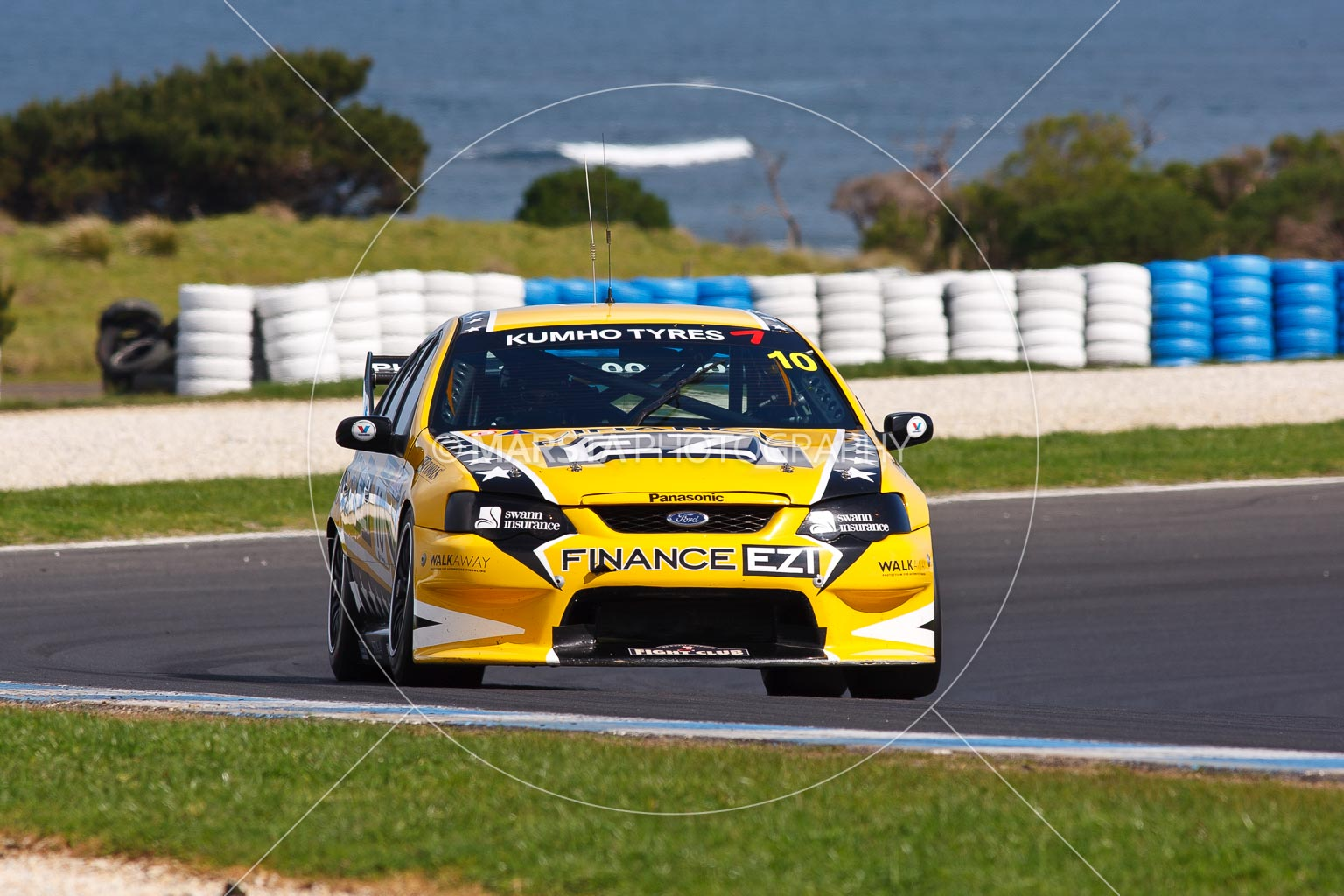 (10);10;23 September 2012;Australia;Ford Falcon BA;Maurice Pickering;Phillip Island;Shannons Nationals;V8 Touring Cars;VIC;Victoria;auto;motorsport;racing;super telephoto