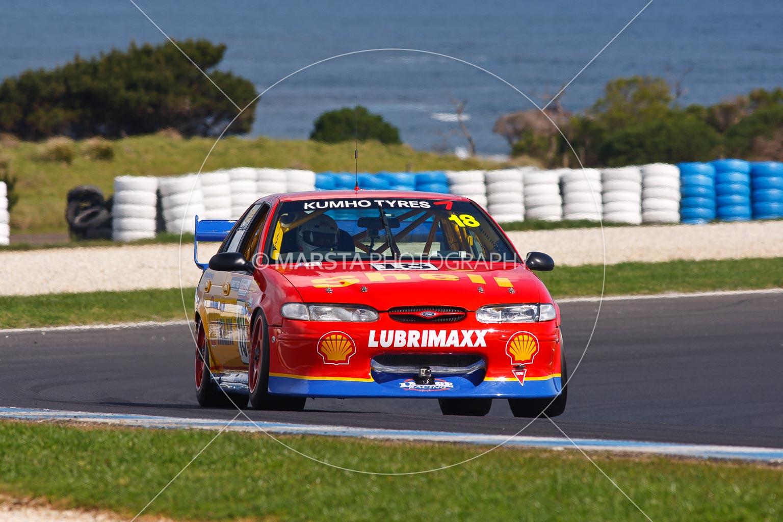 (18);23 September 2012;Australia;Ford Falcon EL;Leigh Moran;Phillip Island;Shannons Nationals;V8 Touring Cars;VIC;Victoria;auto;motorsport;racing;super telephoto