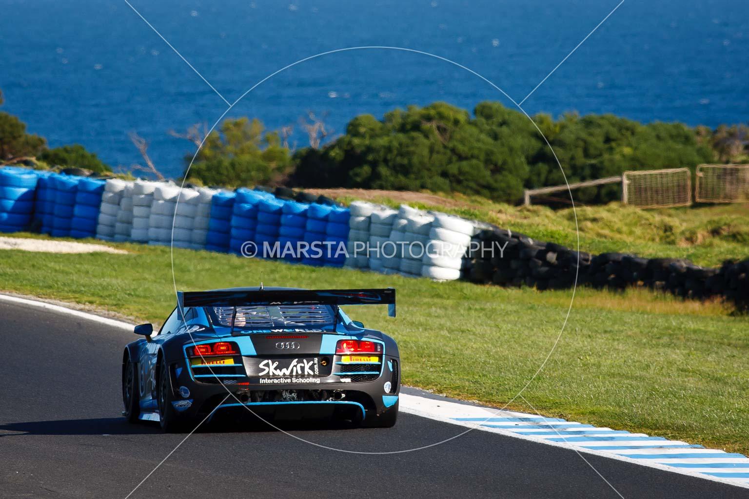 (6);23 September 2012;6;AGT;Audi R8 LMS;Australia;Australian GT Championship;Grand Tourer;Phillip Island;Rod Salmon;Shannons Nationals;VIC;Victoria;auto;endurance;motorsport;ocean;racing;super telephoto