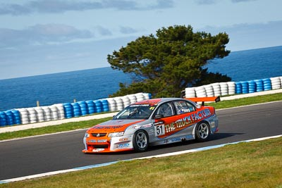 51;22-September-2012;51;Australia;Holden-Commodore-VZ;Ian-Yeing;Phillip-Island;Shannons-Nationals;V8-Touring-Cars;VIC;Victoria;auto;motorsport;ocean;racing;telephoto