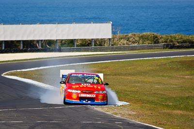 18;22-September-2012;Australia;Ford-Falcon-EL;Leigh-Moran;Phillip-Island;Shannons-Nationals;Topshot;V8-Touring-Cars;VIC;Victoria;auto;motorsport;racing;super-telephoto