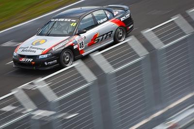 48;23-September-2012;48;Australia;Holden-Commodore-VT;Matthew-Palmer;Phillip-Island;Saloon-Cars;Shannons-Nationals;VIC;Victoria;auto;fence;motion-blur;motorsport;racing;telephoto