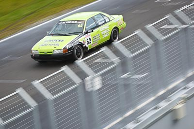 62;23-September-2012;62;Australia;Ford-Falcon-EB;Mark-Bryan;Phillip-Island;Saloon-Cars;Shannons-Nationals;VIC;Victoria;auto;fence;motion-blur;motorsport;racing;telephoto