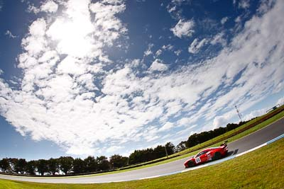 49;23-September-2012;AGT;Australia;Australian-GT-Championship;Ferrari-458-Italia-GT3;Grand-Tourer;Phillip-Island;Renato-Loberto;Shannons-Nationals;Tony-Defelice;VIC;Victoria;auto;clouds;endurance;fisheye;motorsport;racing;sky