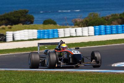 42;23-September-2012;Australia;BF-Racing;Ben-Gersekowski;Dallara-F304;Formula-3;Open-Wheeler;Phillip-Island;Shannons-Nationals;Spiess-Opel;VIC;Victoria;auto;motorsport;racing;super-telephoto