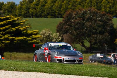 55;23-September-2012;55;Australia;Phillip-Island;Porsche-911-GT3-Cup-997;Porsche-GT3-Cup-Challenge;Rob-Knight;Shannons-Nationals;VIC;Victoria;auto;motorsport;racing;super-telephoto;trees