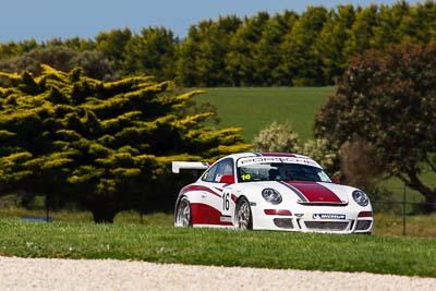 16;16;23-September-2012;Australia;John-Karytinos;Phillip-Island;Porsche-911-GT3-Cup-997;Porsche-GT3-Cup-Challenge;Shannons-Nationals;VIC;Victoria;auto;motorsport;racing;super-telephoto;trees