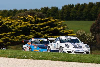 31;23-September-2012;31;Australia;Jon-Trende;Phillip-Island;Porsche-911-GT3-Cup-997;Porsche-GT3-Cup-Challenge;Shannons-Nationals;VIC;Victoria;auto;motorsport;racing;super-telephoto;trees