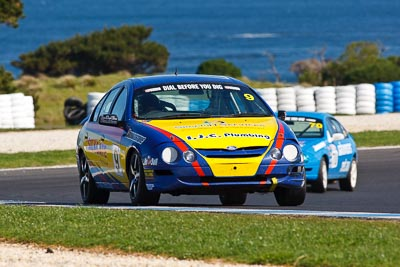 9;23-September-2012;9;Australia;Ford-Falcon-AU;Ian-Chivas;Phillip-Island;Saloon-Cars;Shannons-Nationals;VIC;Victoria;auto;motorsport;racing;super-telephoto