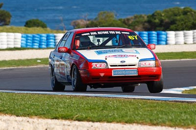 67;23-September-2012;67;Australia;Ford-Falcon-EA;Phil-Gray;Phillip-Island;Saloon-Cars;Shannons-Nationals;VIC;Victoria;auto;motorsport;racing;super-telephoto