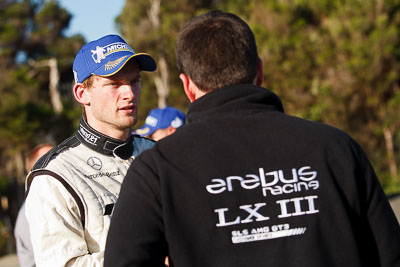 23-September-2012;AGT;Australia;Australian-GT-Championship;Erebus-Motorsport;Erebus-Racing;Grand-Tourer;Maro-Engel;Phillip-Island;Shannons-Nationals;VIC;Victoria;atmosphere;auto;endurance;motorsport;paddock;portrait;racing;telephoto