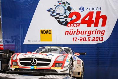 20-May-2013;24-Hour;Deutschland;Germany;Nordschleife;Nuerburg;Nuerburgring;Nurburg;Nurburgring;Nürburg;Nürburgring;Rhineland‒Palatinate;Topshot;atmosphere;auto;celebration;motorsport;paddock;podium;racing;telephoto