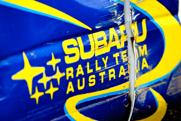 Coates Rally Queensland, Imbil, Sunshine Coast, Australia, 4-5 June 2005