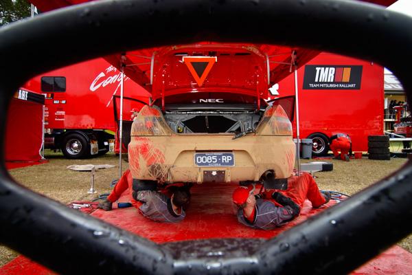 Coates Rally Queensland, Imbil, Sunshine Coast, Australia, 16-18 June 2006