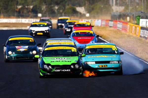 Queensland Racing Drivers Championship, Queensland Raceway, Ipswich, Australia, 3-4 May 2008